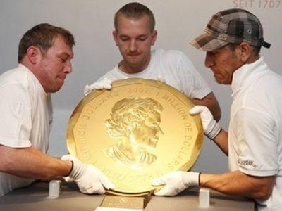 Выпущена уникальная монета номиналом в $100 тысяч