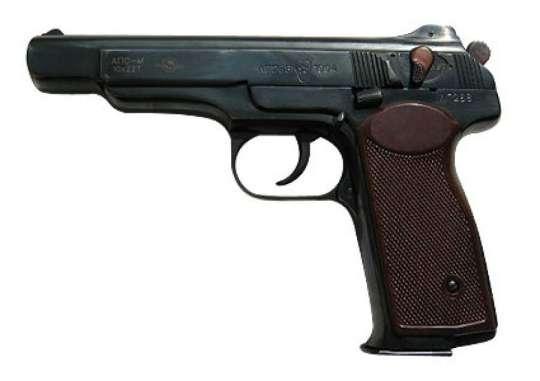 грамоты сделать пистолет?