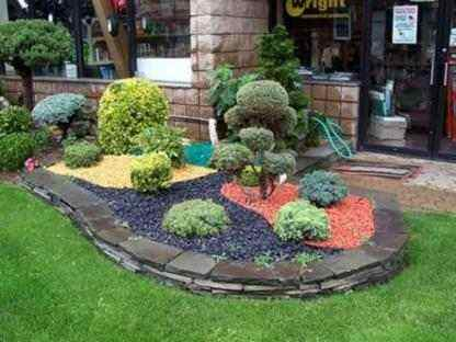 Ландшафтный дизайн дачного садового