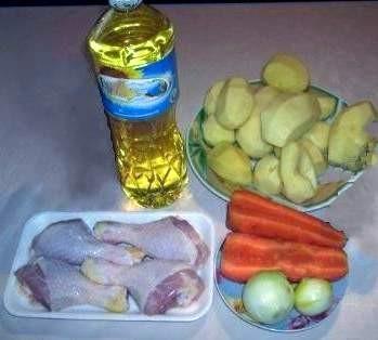 Курник рецепт с картошкой и курицей на майонезе