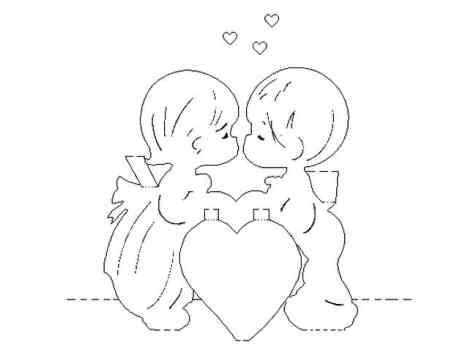Валентинки своими руками из
