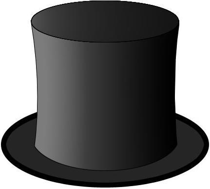 Шляпа цилиндр схема.