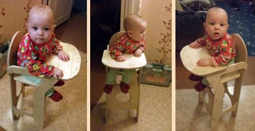 """Детский стульчик для кормления своими руками """" AvaStek.ru - Статьи, обзоры, авто новости. Общество и политика"""