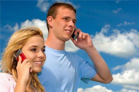 Использование сотового телефона
