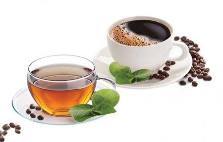 Отчаянная бодрость с помощью чая и кофе